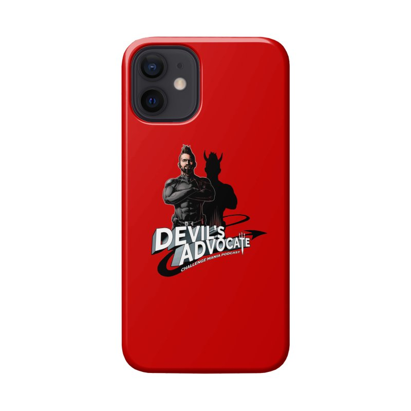Devil's Advocate Accessories Phone Case by Challenge Mania Shop
