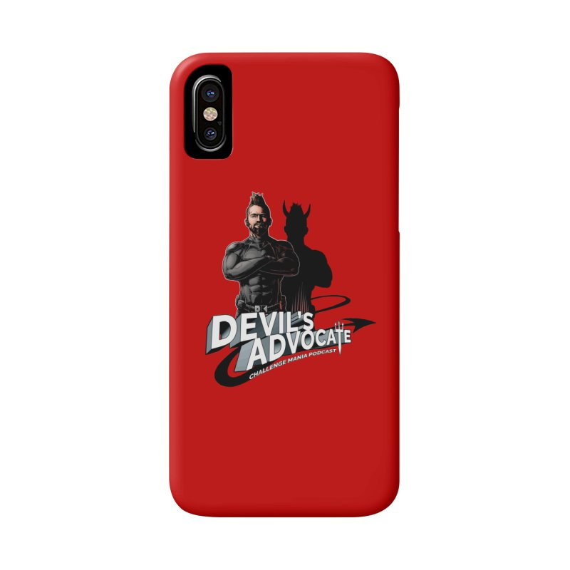 Devil's Advocate Accessories Phone Case by Challenge Mania Shop