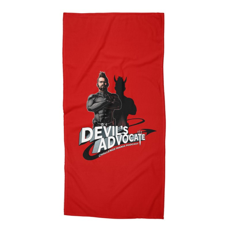 Devil's Advocate Accessories Beach Towel by Challenge Mania Shop