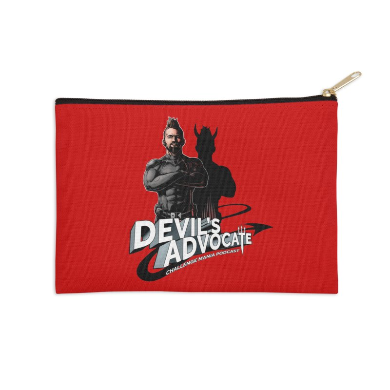 Devil's Advocate Accessories Zip Pouch by Challenge Mania Shop