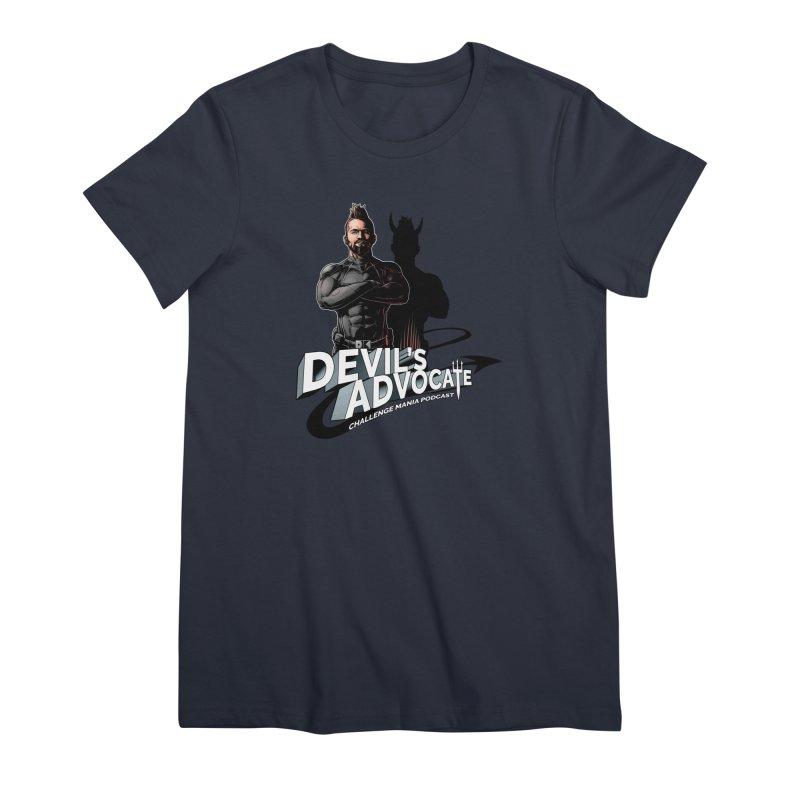 Devil's Advocate Women's Premium T-Shirt by Challenge Mania Shop