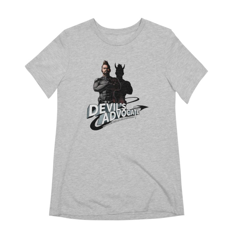 Devil's Advocate Women's Extra Soft T-Shirt by Challenge Mania Shop