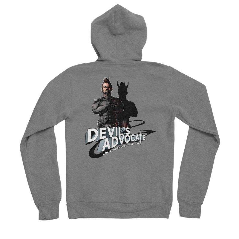 Devil's Advocate Men's Zip-Up Hoody by Challenge Mania Shop
