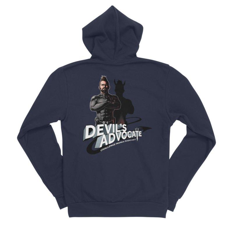 Devil's Advocate Men's Sponge Fleece Zip-Up Hoody by Challenge Mania Shop