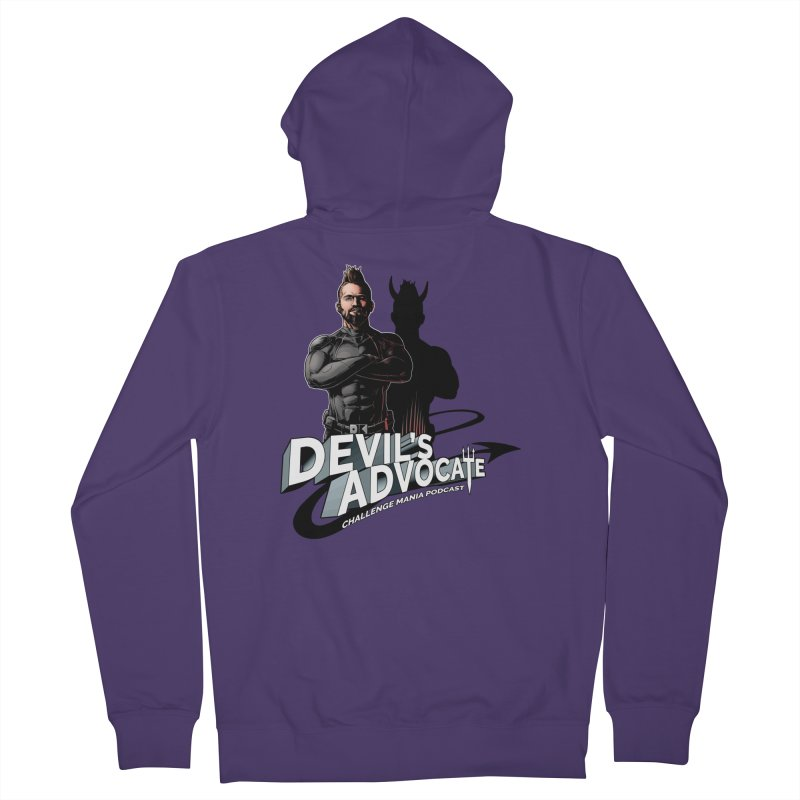 Devil's Advocate Women's Zip-Up Hoody by Challenge Mania Shop
