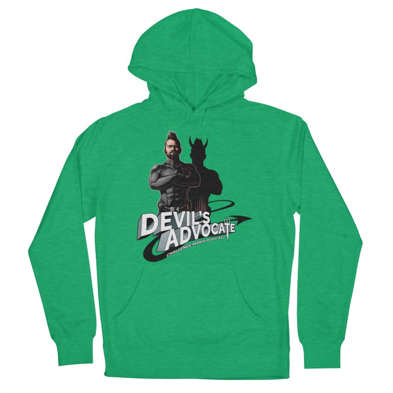 Devil's Advocate Women's French Terry Pullover Hoody by Challenge Mania Shop