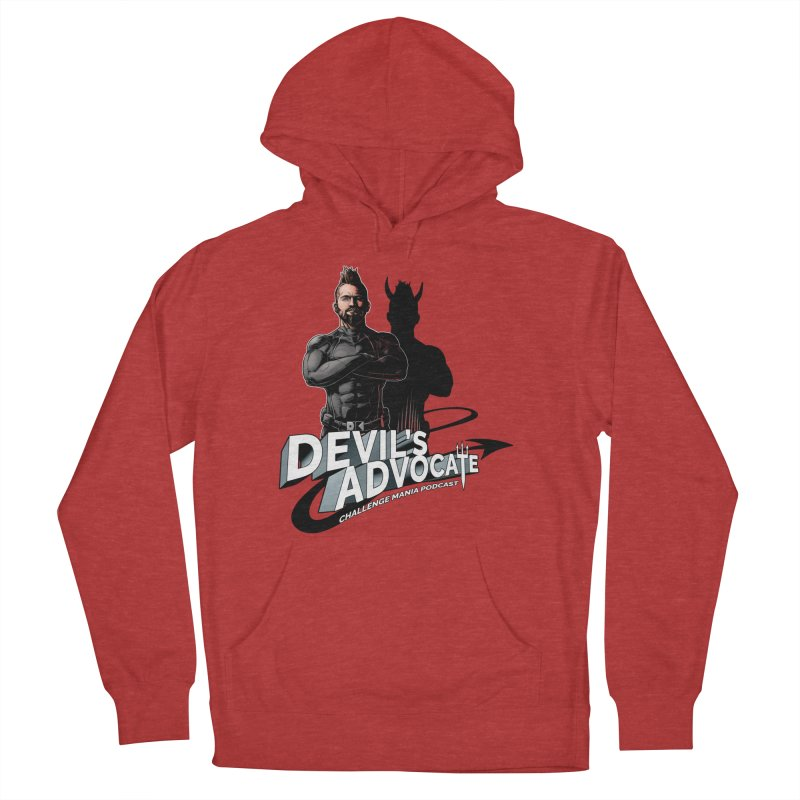 Devil's Advocate Men's French Terry Pullover Hoody by Challenge Mania Shop