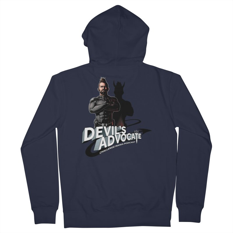Devil's Advocate Men's French Terry Zip-Up Hoody by Challenge Mania Shop