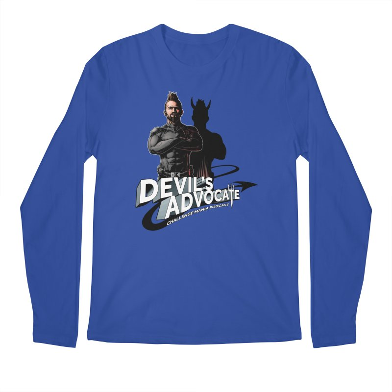 Devil's Advocate Men's Regular Longsleeve T-Shirt by Challenge Mania Shop