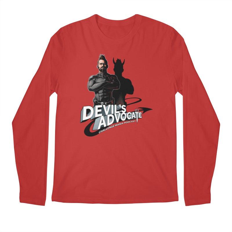 Devil's Advocate Men's Regular Longsleeve T-Shirt by Challenge Mania Shop