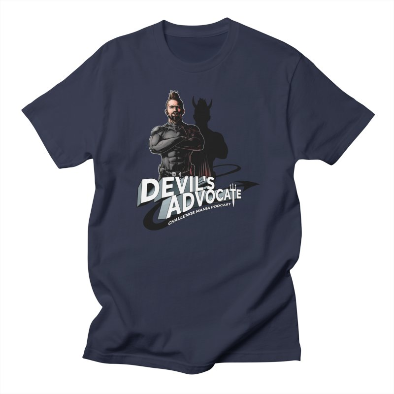 Devil's Advocate Men's Regular T-Shirt by Challenge Mania Shop