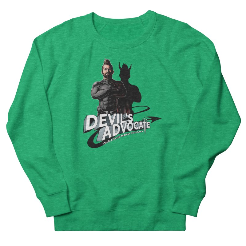 Devil's Advocate Men's Sweatshirt by Challenge Mania Shop