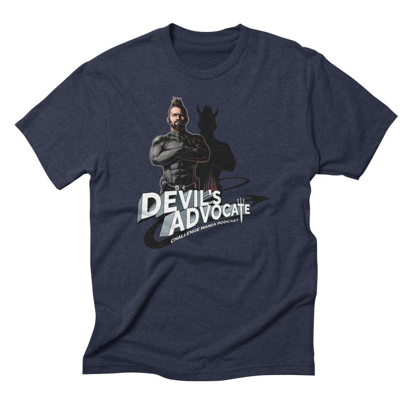 Devil's Advocate Men's Triblend T-Shirt by Challenge Mania Shop
