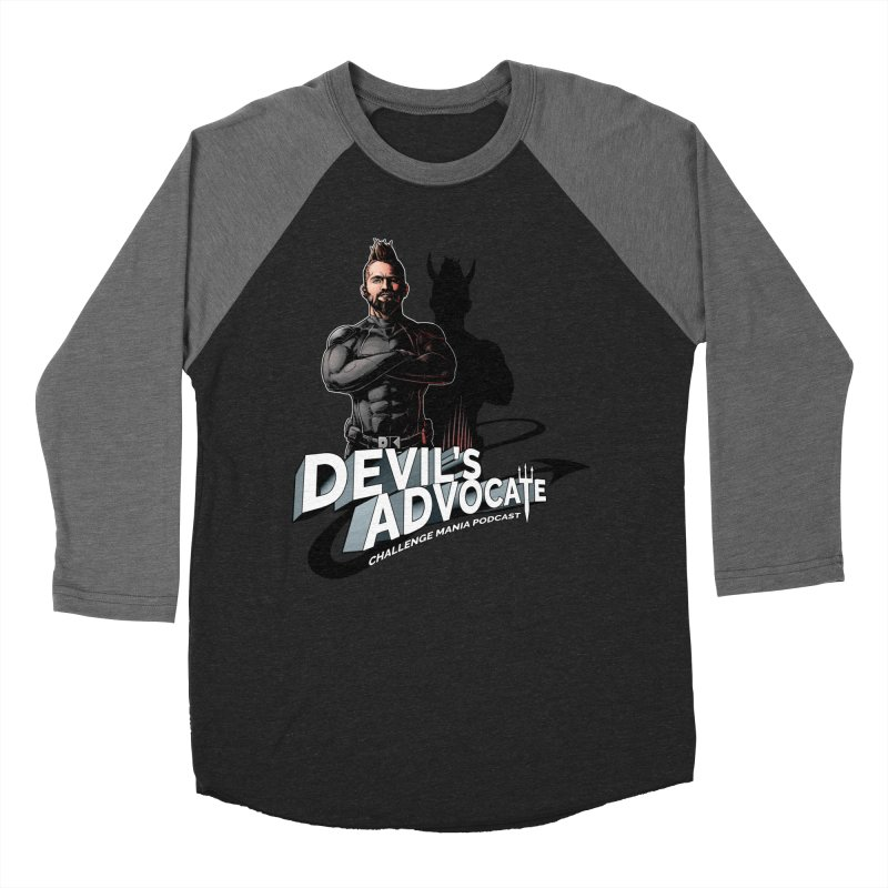 Devil's Advocate Women's Baseball Triblend Longsleeve T-Shirt by Challenge Mania Shop