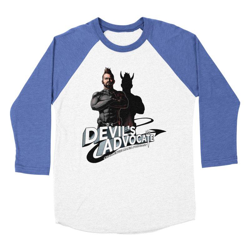 Devil's Advocate Men's Baseball Triblend Longsleeve T-Shirt by Challenge Mania Shop