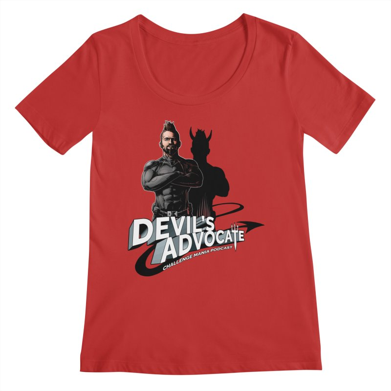 Devil's Advocate Women's Scoop Neck by Challenge Mania Shop