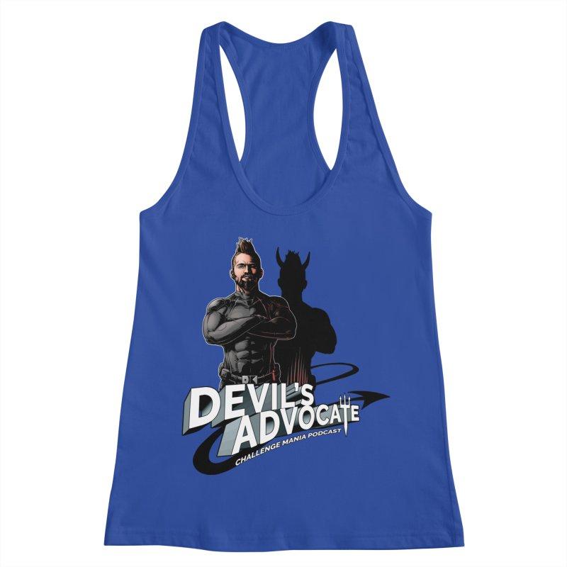 Devil's Advocate Women's Racerback Tank by Challenge Mania Shop