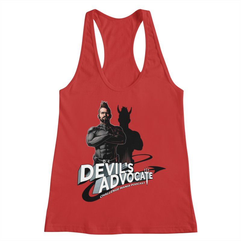 Devil's Advocate Women's Tank by Challenge Mania Shop