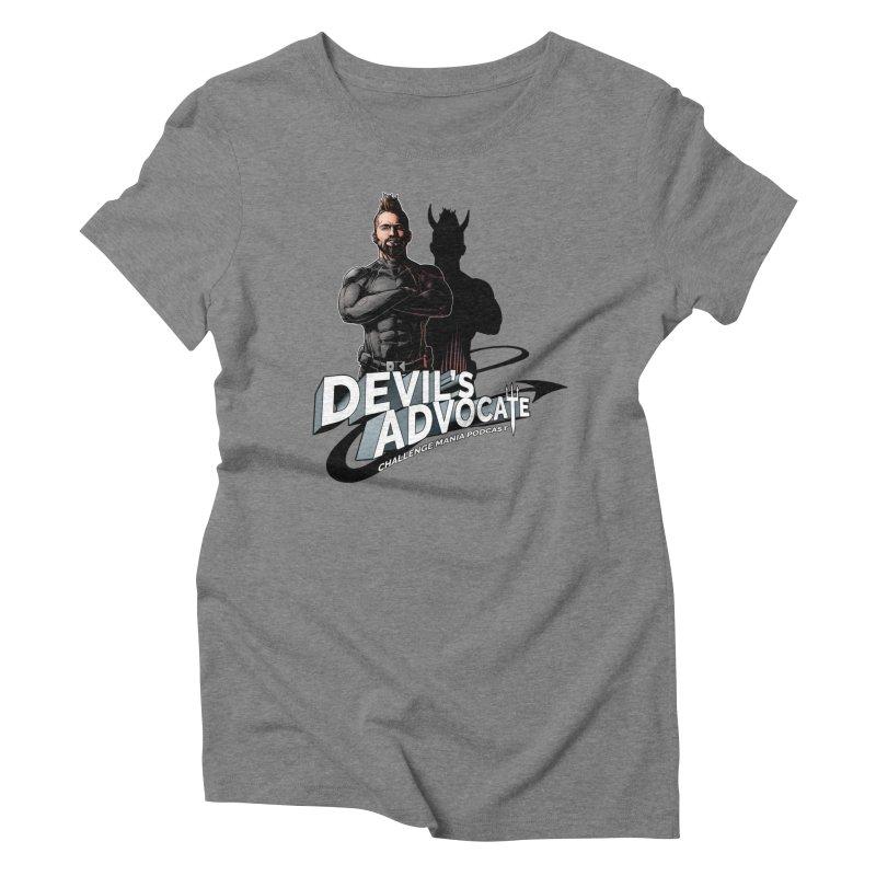 Devil's Advocate Women's Triblend T-Shirt by Challenge Mania Shop