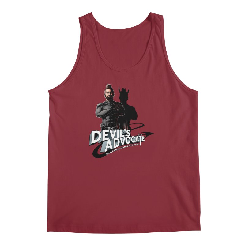 Devil's Advocate Men's Tank by Challenge Mania Shop