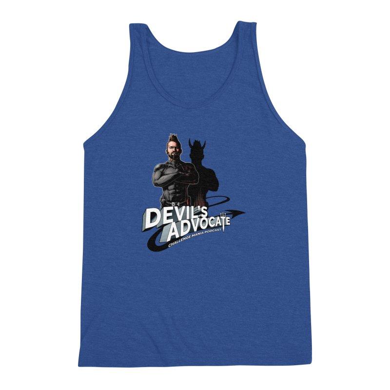 Devil's Advocate Men's Triblend Tank by Challenge Mania Shop