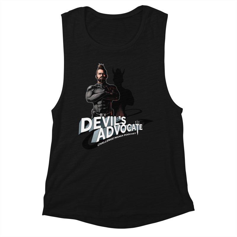Devil's Advocate Women's Muscle Tank by Challenge Mania Shop