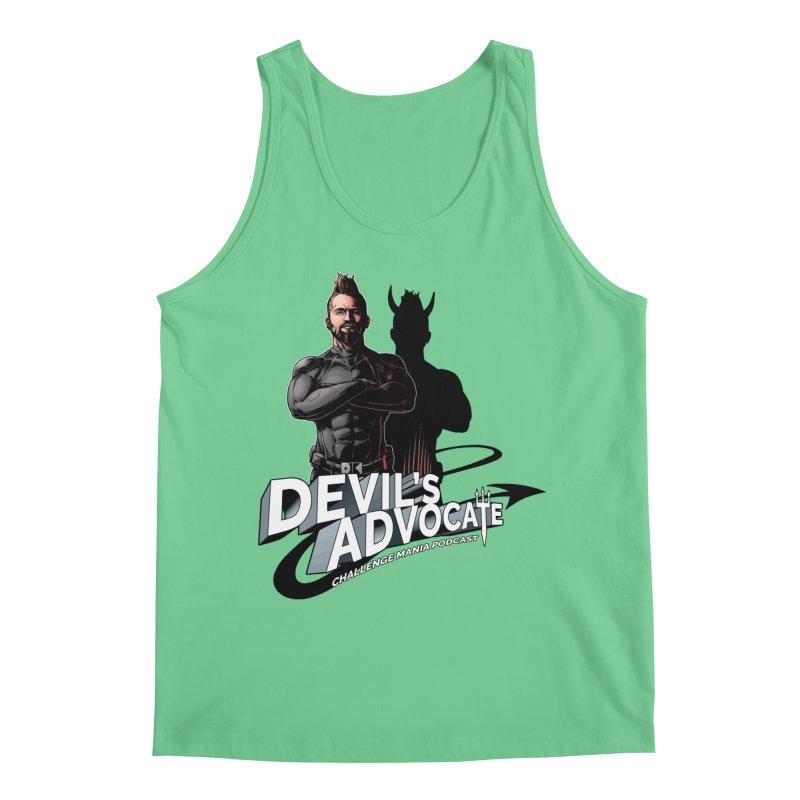 Devil's Advocate Men's Regular Tank by Challenge Mania Shop