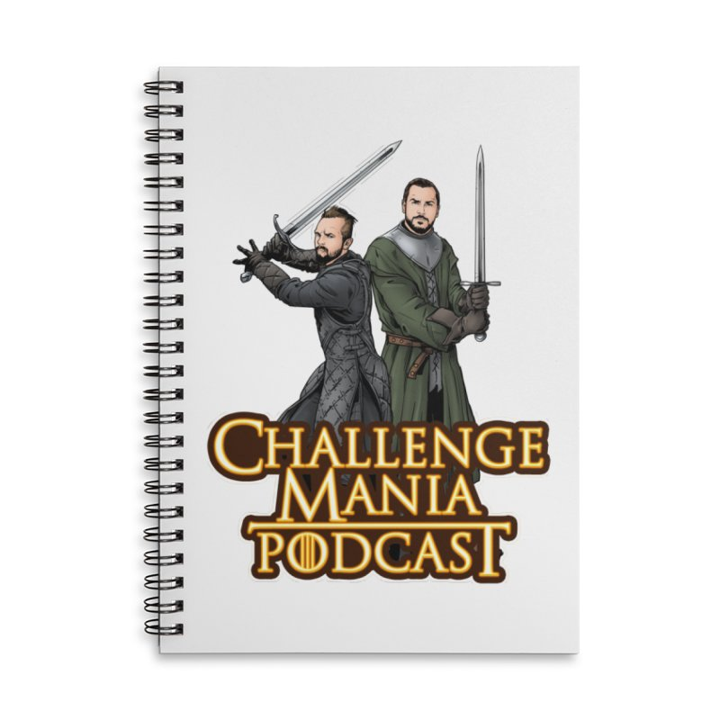 Game of Pods Accessories Notebook by Challenge Mania Shop