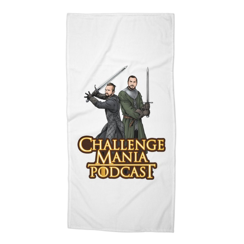 Game of Pods Accessories Beach Towel by Challenge Mania Shop