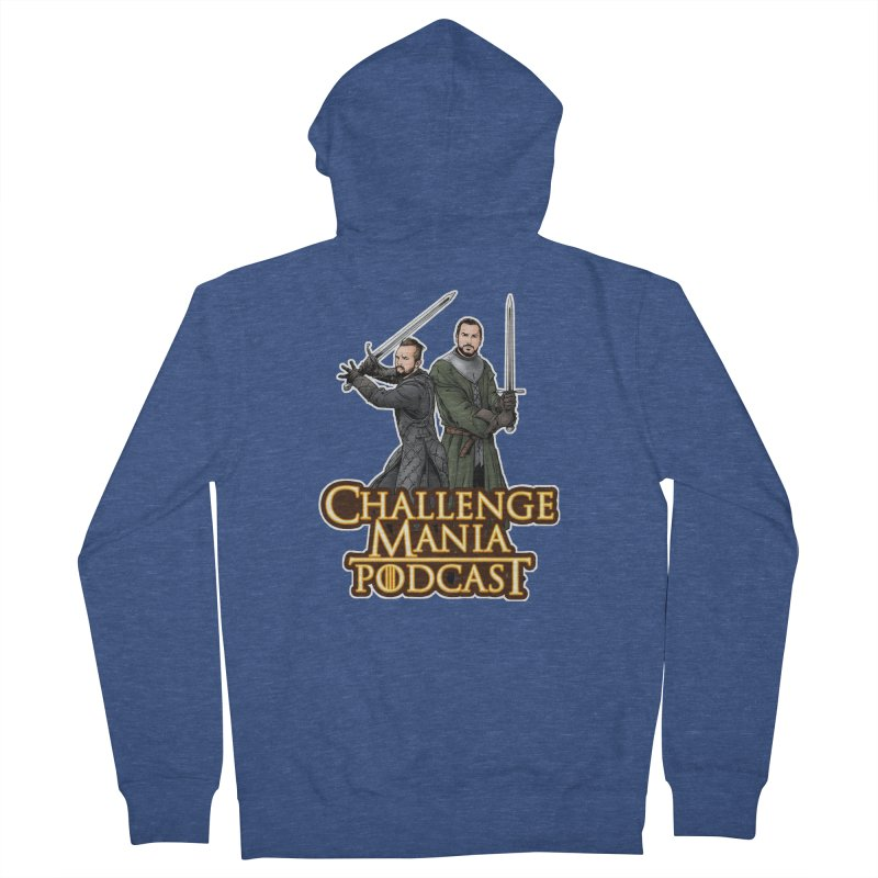 Game of Pods Men's French Terry Zip-Up Hoody by Challenge Mania Shop