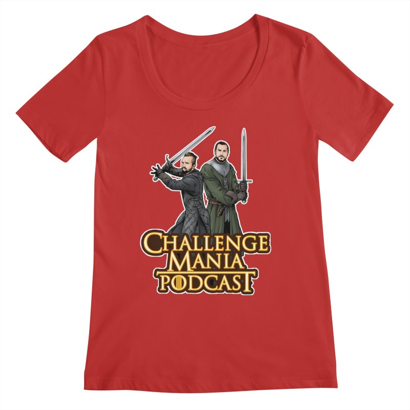 Game of Pods Women's Regular Scoop Neck by Challenge Mania Shop