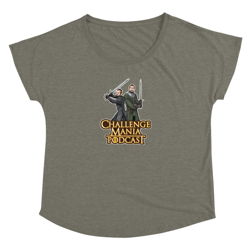 Game of Pods Women's Scoop Neck by Challenge Mania Shop