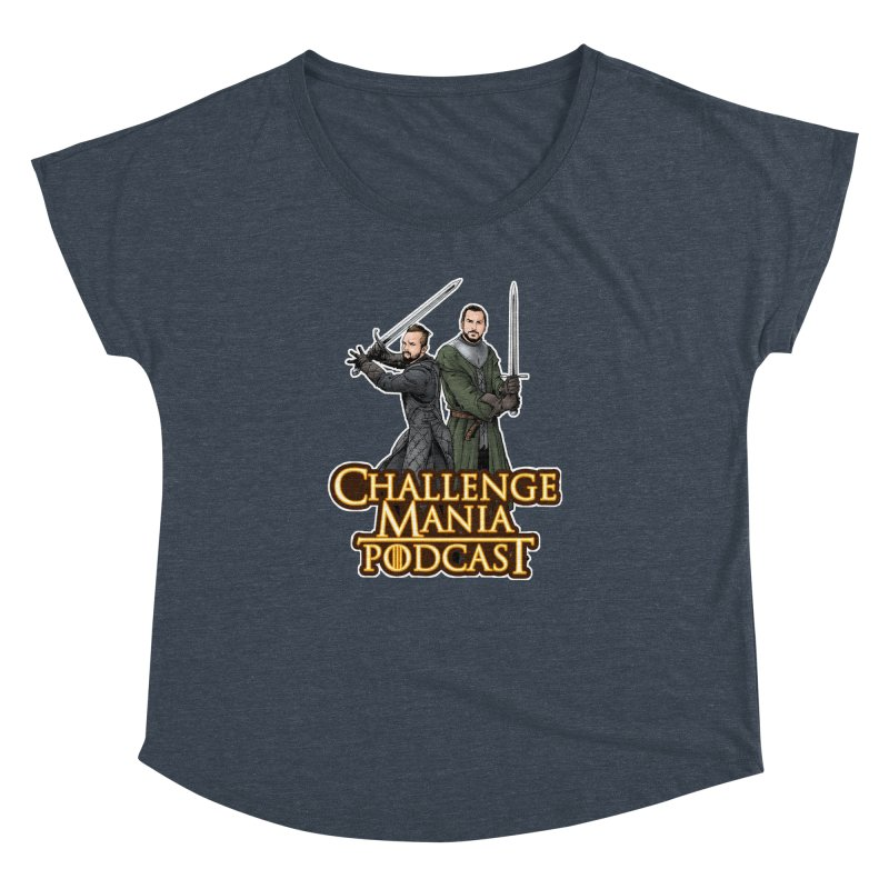 Game of Pods Women's Dolman Scoop Neck by Challenge Mania Shop