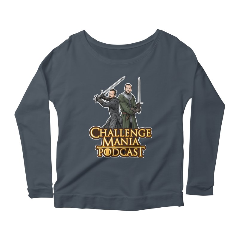 Game of Pods Women's Scoop Neck Longsleeve T-Shirt by Challenge Mania Shop