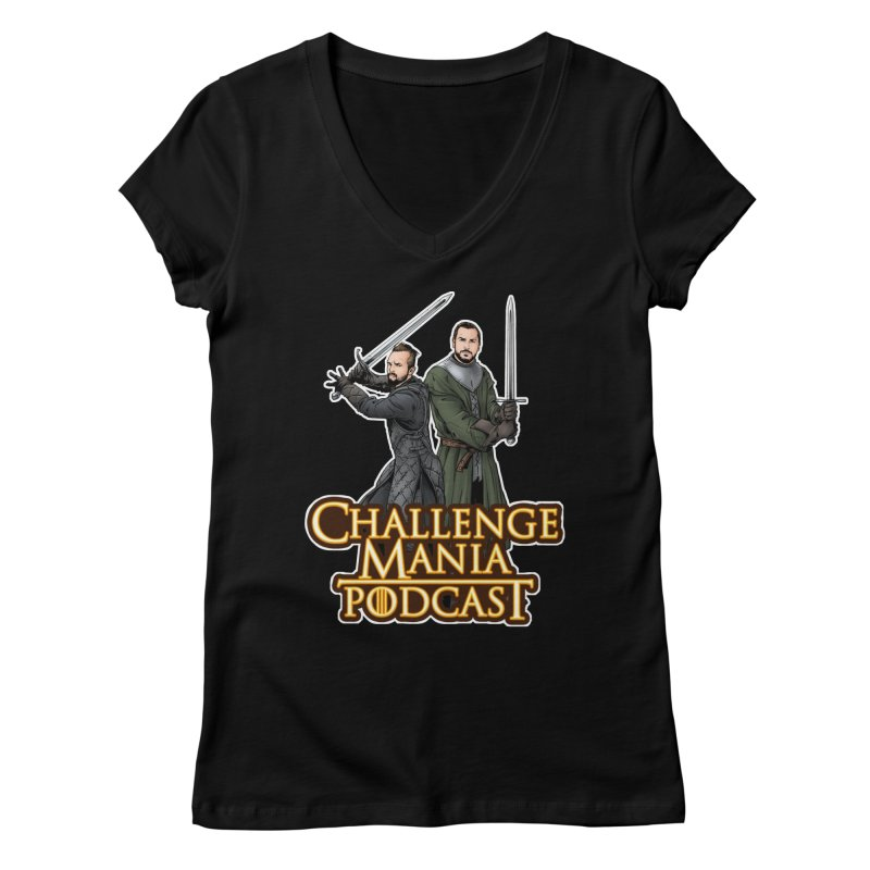 Game of Pods Women's V-Neck by Challenge Mania Shop
