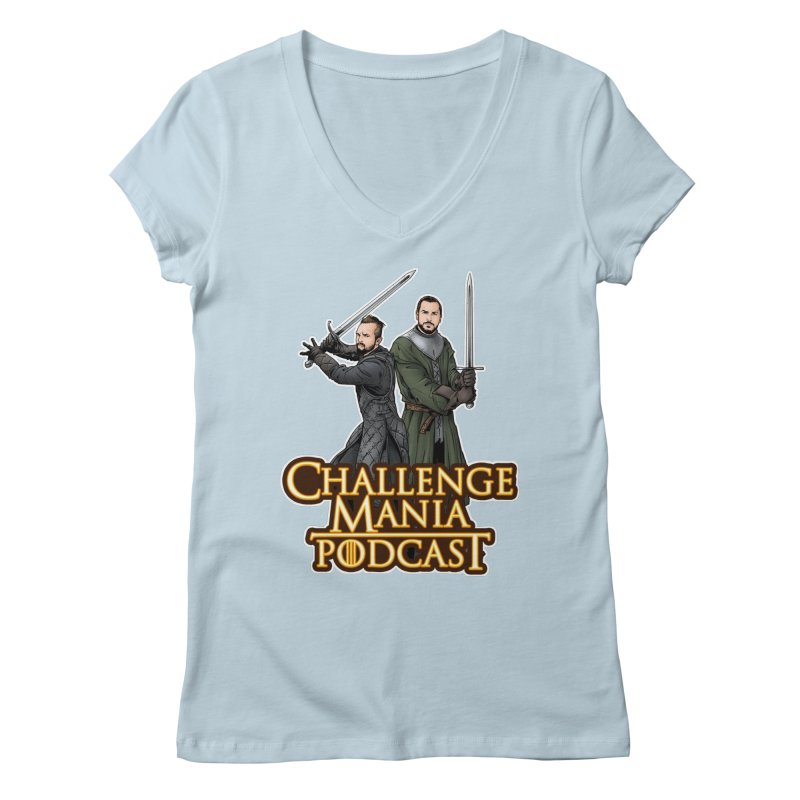 Game of Pods Women's Regular V-Neck by Challenge Mania Shop