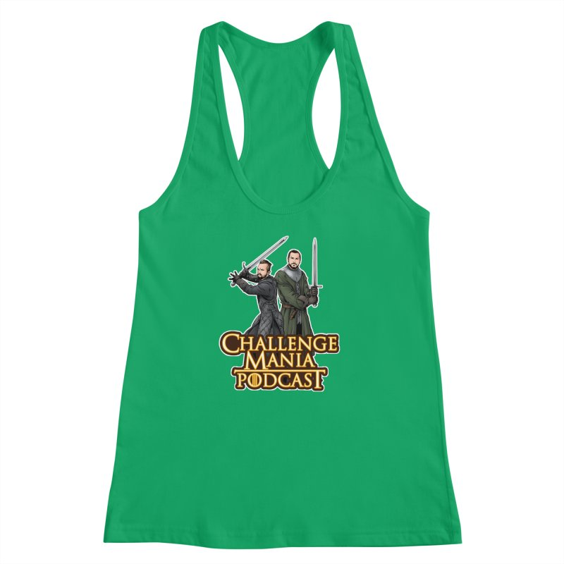 Game of Pods Women's Racerback Tank by Challenge Mania Shop