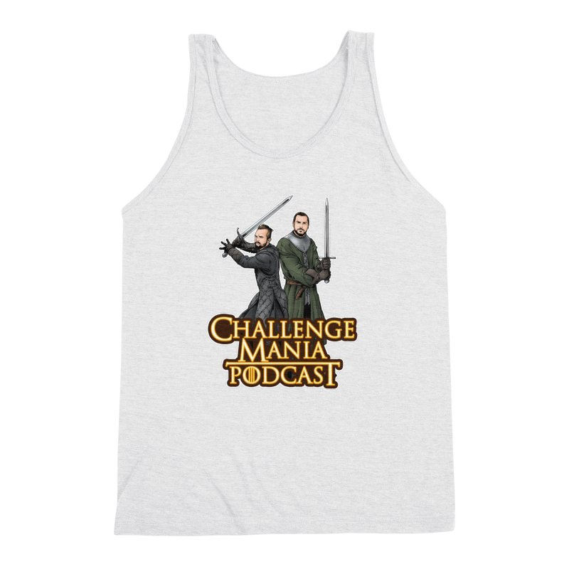 Game of Pods Men's Triblend Tank by Challenge Mania Shop