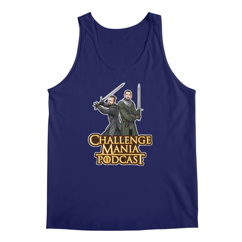 Game of Pods Men's Regular Tank by Challenge Mania Shop