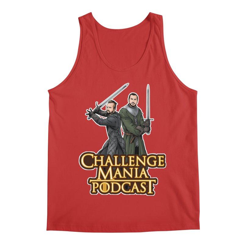 Game of Pods Men's Regular Tank by Challenge Mania Shop
