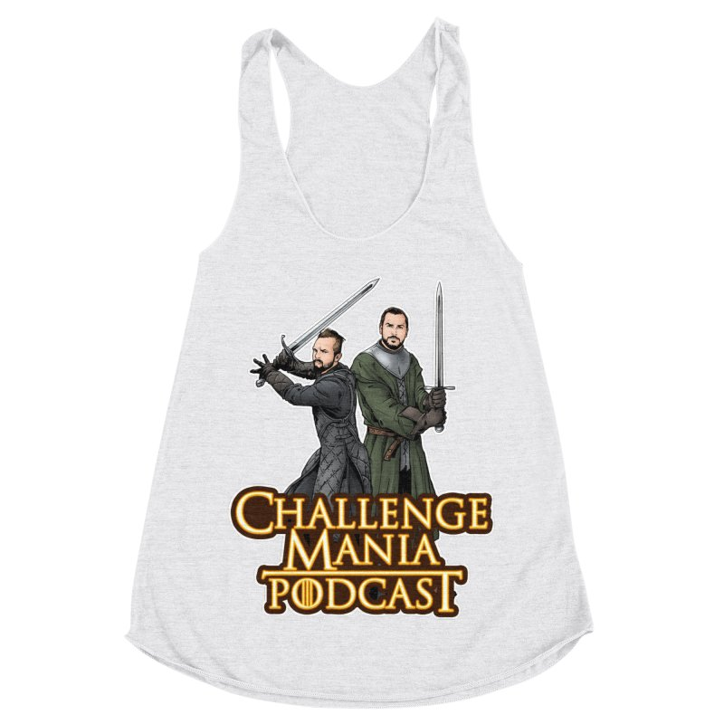 Game of Pods Women's Racerback Triblend Tank by Challenge Mania Shop