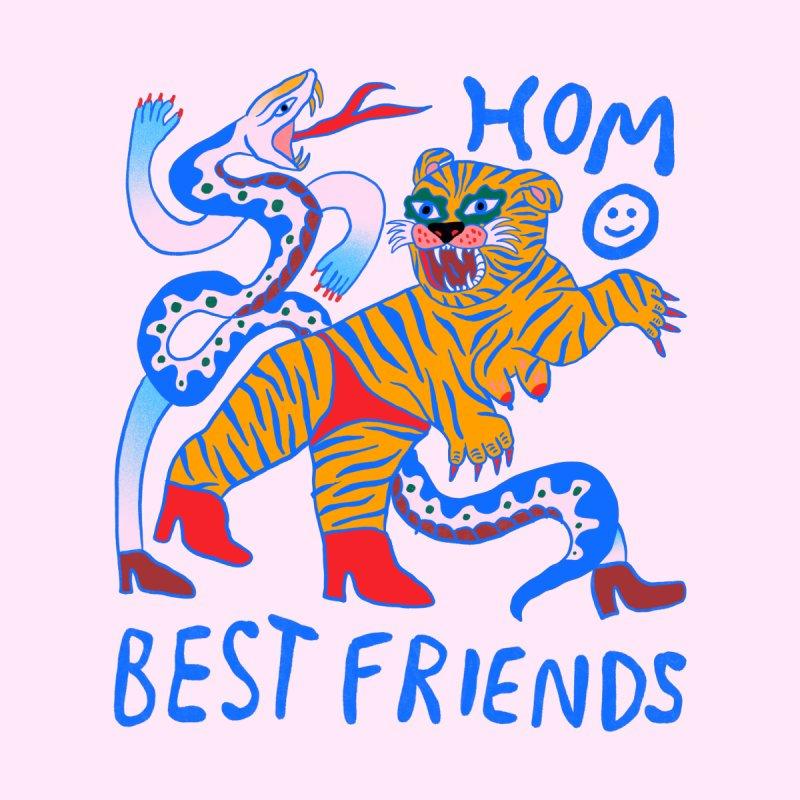 all gender: homo best friends Accessories Sticker by Char Bataille Artwork