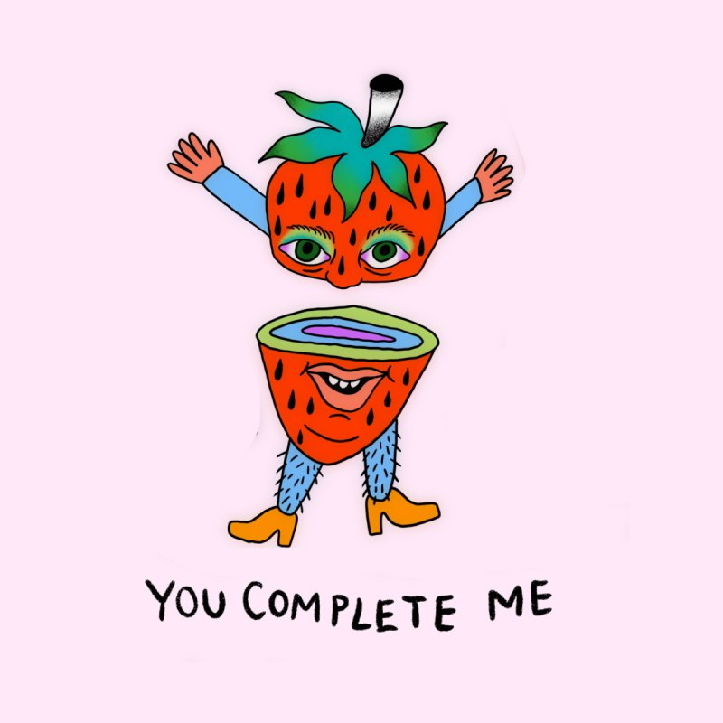 You complete me Accessories Greeting Card by Char Bataille Artwork