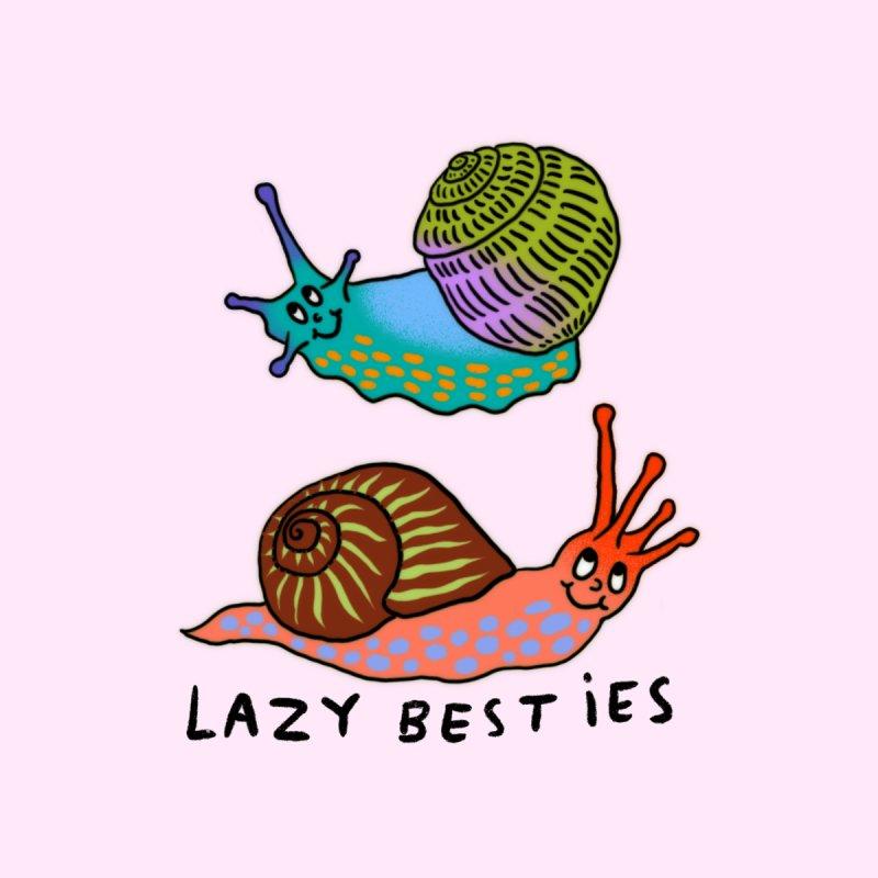 Lazy besties Accessories Sticker by Char Bataille Artwork