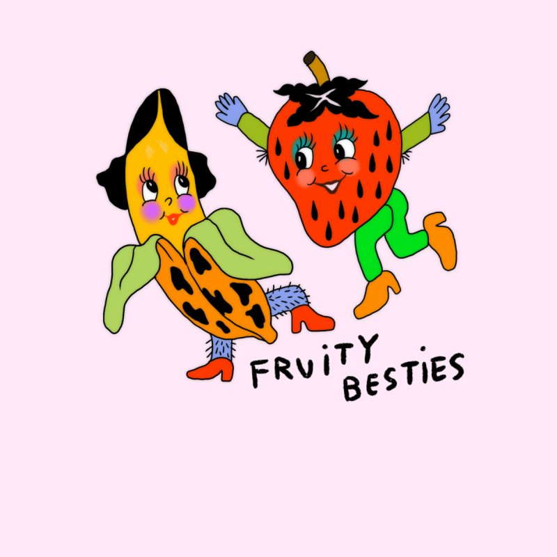 Fruity besties Accessories Greeting Card by Char Bataille Artwork