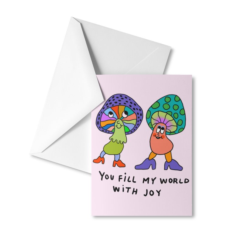 You fill my world with joy Accessories Greeting Card by Char Bataille Artwork