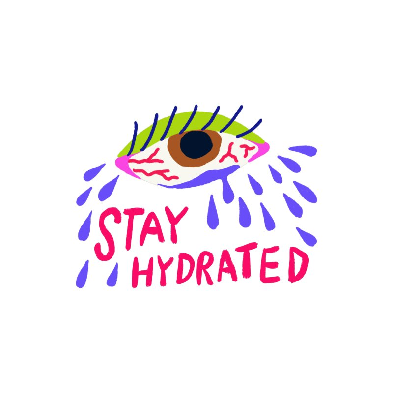 Stay Hydrated Accessories Hat by Char Bataille Artwork