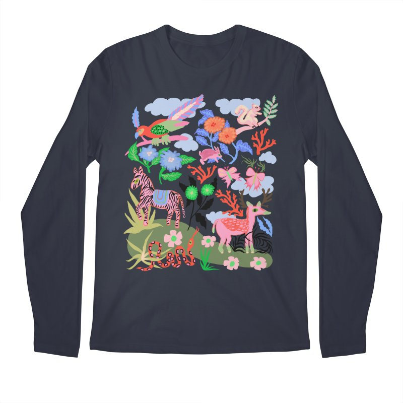 Forest friends Loose fit, all gender Longsleeve T-Shirt by Char Bataille Artwork
