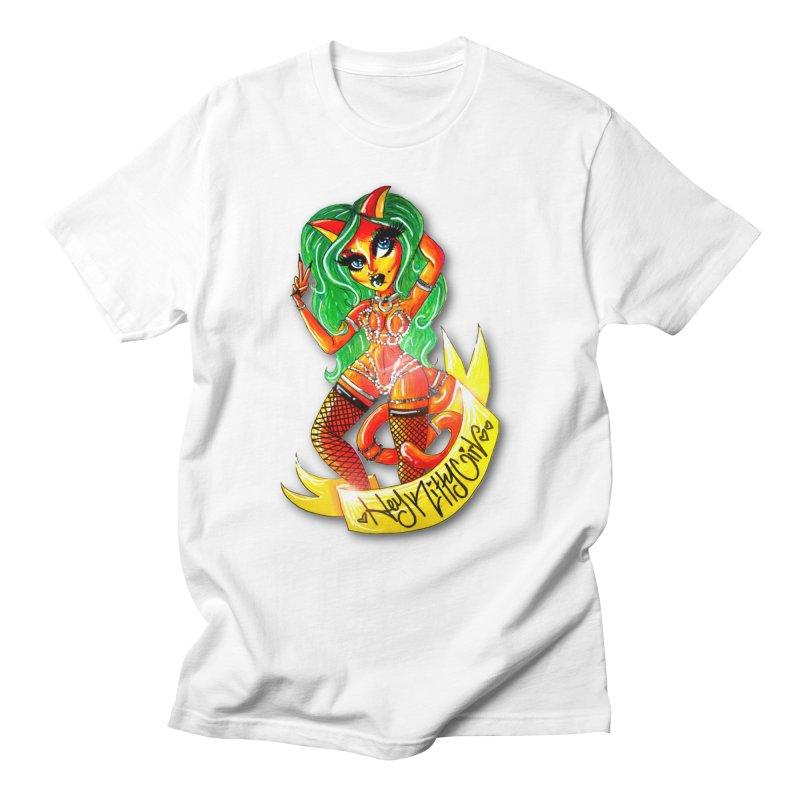 Hey Kitty Girl! Men's T-Shirt by CharOne's Artist Shop