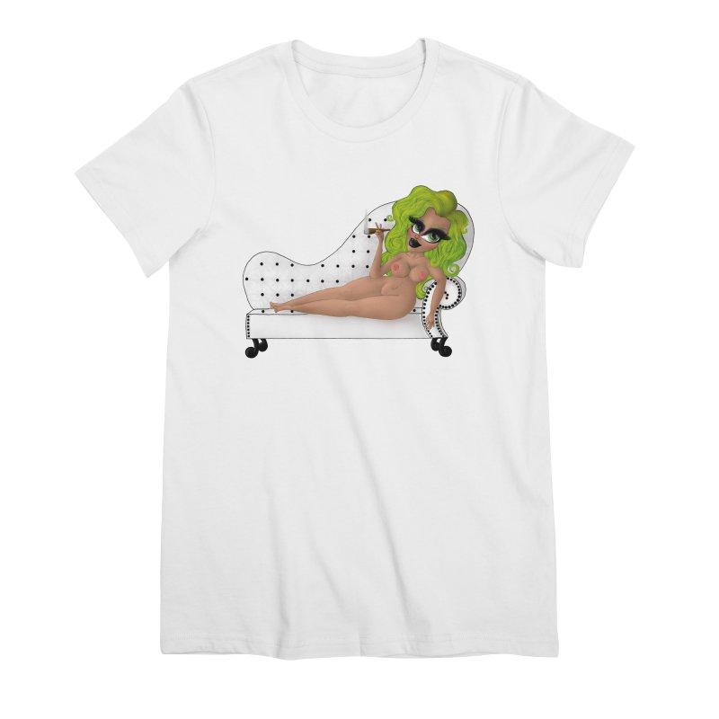 Smoking Lounge Women's T-Shirt by CharOne's Artist Shop